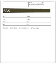 template for a fax cover sheet template fax cover sheet