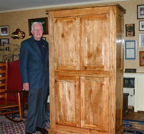 up for bid jimmy s handmade cabinet finewoodworking