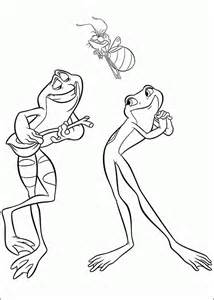 princess frog coloring pages coloringpagesabc