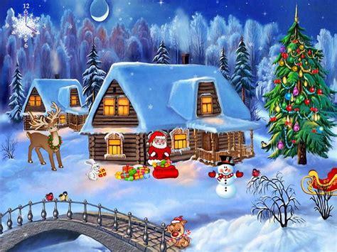 christmas symphony  windows  screensavers  pesfum christmas wallpaper