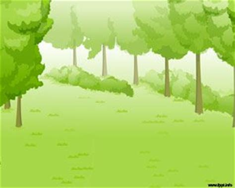 green forest powerpoint template
