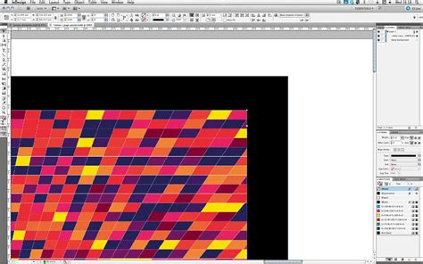 pattern from illustrator to indesign adobe illustrator indesign tutorial design a geometric