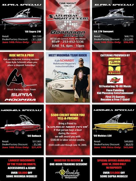 gonnason boats kent gonnason boats is hosting the biggest boating extravaganza