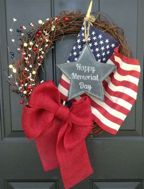 Diy Memorial Day Decorations by Memorial Day Wreaths Memorial Day And Wreath Tutorial On