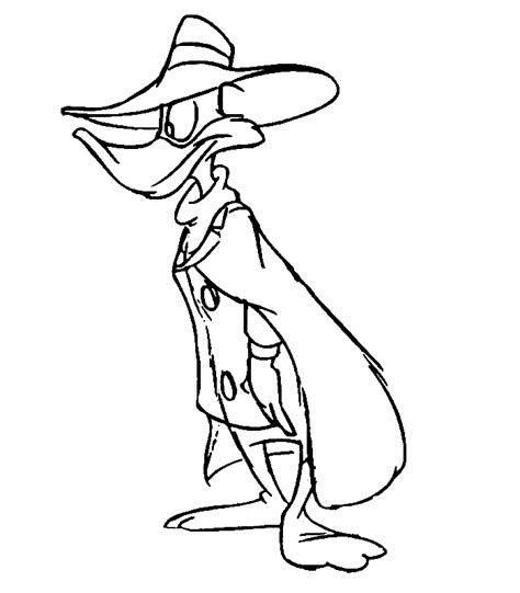 darkwing duck coloring pages coloringpagesabc com