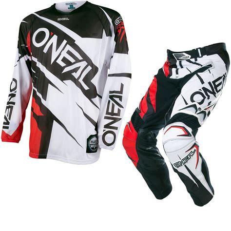 one industries motocross gear 100 one motocross gear o u0027neal element black