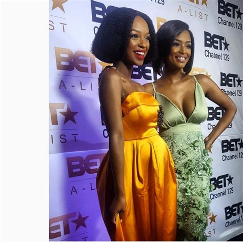 Nenna And At Bet Show Launch by Nandi Madida S Baby Bump Slay The Show At Bet Alist Launch