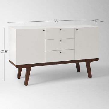 West Elm Credenza west elm credenza stuff for the new mid century modern house pint
