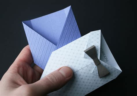 Origami Suit - jonathan shackleton for fedrigoni paper origami suits