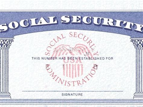 Social Security Card Template Font by Social Security Denies S Name On Card
