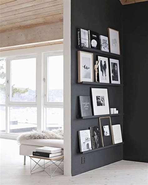 painted wall black the 25 best ideas about feature walls on
