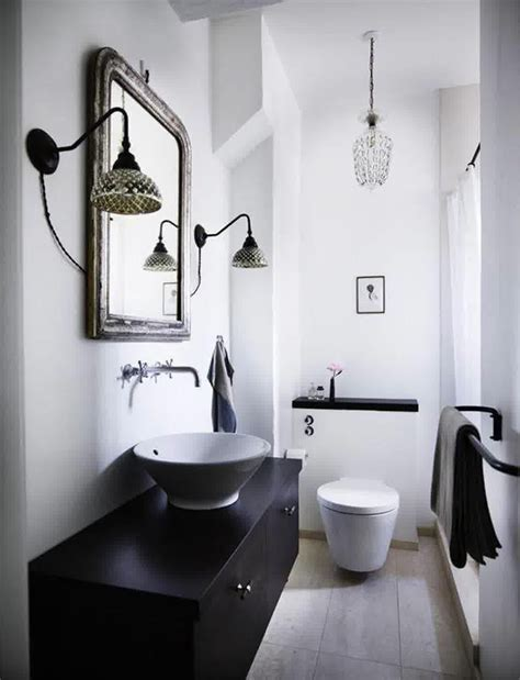 black white and bathroom decorating ideas c 243 mo decorar tus ba 241 os en blanco y negro mujer de 10