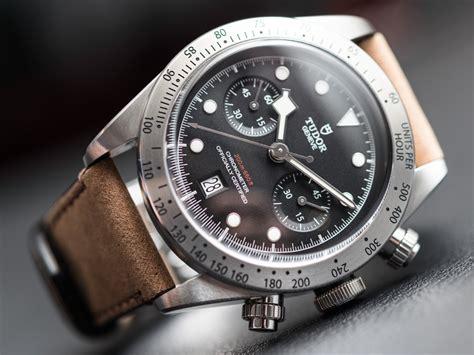 Tudor Heritage Black Bay Chronograph Watch Hands On   aBlogtoWatch