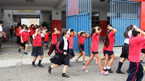 imagenes de simulacros escolares jes 250 s mar 237 a escolares hicieron simulacro de sismo