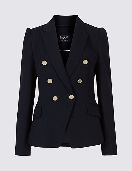 gold button jacket m s collection m s