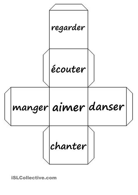 verbe pattern en francais d 233 s pronoms personnels verbes fiche d exercices fiches