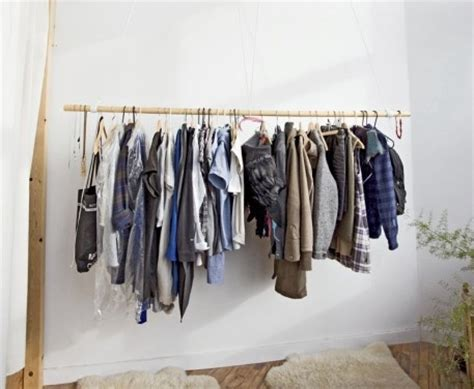 Closet Clothes Bar by Hanging Bar To Display Clothes Closet Concepts
