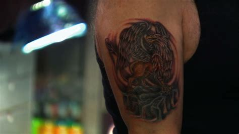 tattoo nightmares all in jasmine rodriguez saves the day with a griffin tattoo