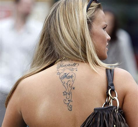 kerry katona tattoo on shoulder online womens tattoo arts