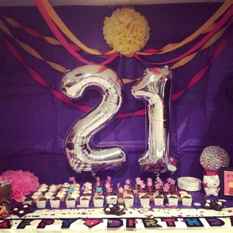 21st Birthday Decoration Ideas by 105 Best Images About 21st Bday On Birthday