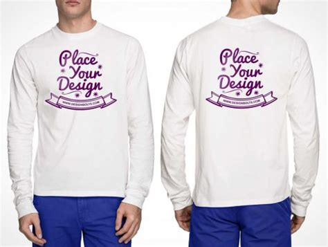 Kaos Raglan3 4 3 Second t shirt mockup psd front and back sweater jacket