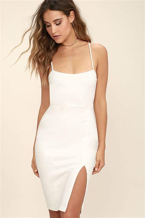 classic white dress bodycon dress party dress
