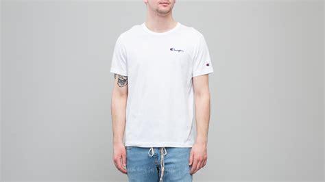 White Crewneck White chion crewneck t shirt white footshop