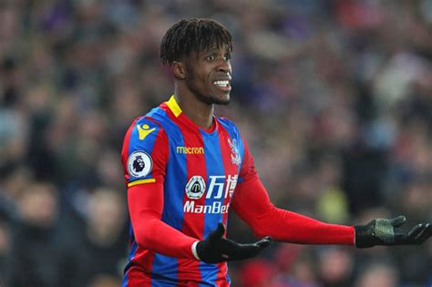 arsenal zaha arsenal news wilfried zaha makes transfer confession