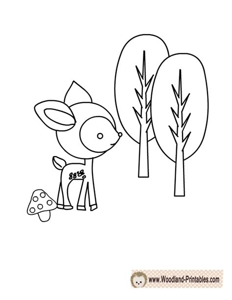 free coloring pages woodland animals free printable woodland animals coloring pages