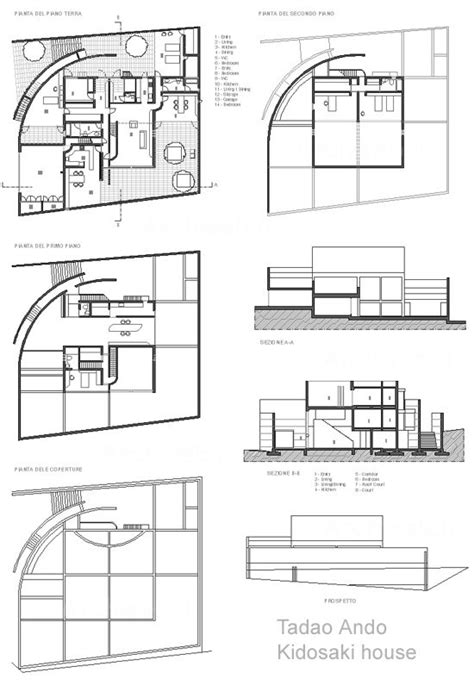 tadao ando floor plans 4 quality of light kidosaki house tadao ando tadao