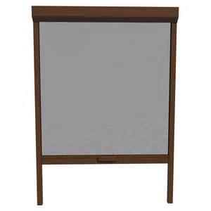 shop larson brownstone retractable screen door actual 30