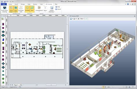 3d shapes in visio 3d visioner 2010 3d visioner is 3d visualization add on