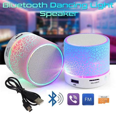Bluetooth Speaker Mini Led Speaker Lu Warna Speaker Aktif Mini led portable mini bluetooth speakers wireless free speaker with tf usb fm mic bluetooth