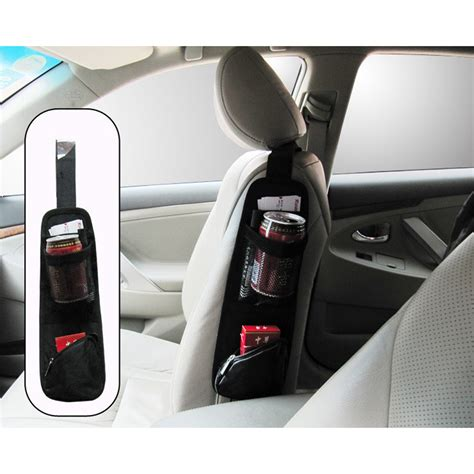 Car Seat Organiser Limited 2015 new style universal car seat chair side bag hanging