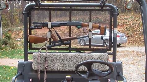 Galerry polaris ranger utv gun rack