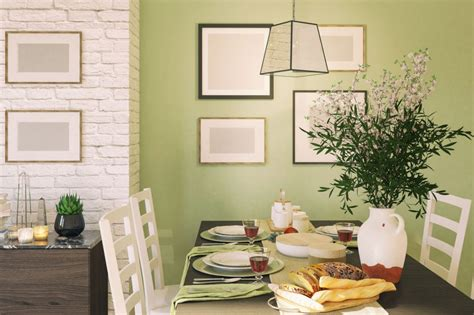 inspirasi tren cat rumah warna hijau  teduh