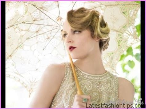 How To Do 1920s Hairstyles by 1920 S Finger Wave Updo Latestfashiontips