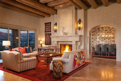 southwest colors for living room bold southwestern home on circle drive by violante