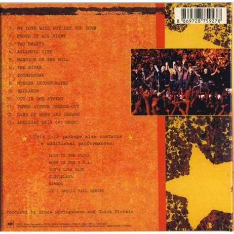 live new york live in new york city mini lp papersleeve by bruce