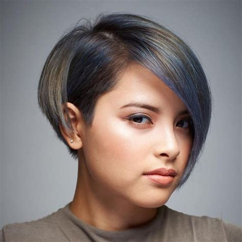 medium haircuts one side longer than the other 25 best ideas about short asymmetrical hairstyles on