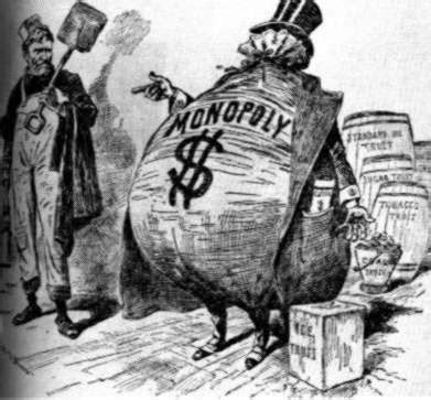 oligopolies, trusts and monopolies in the 19th century