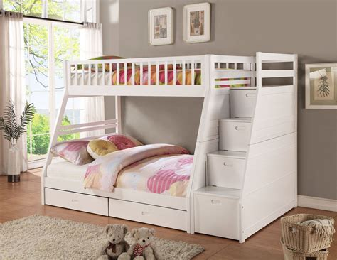 Bunk Bed With Trundle And Stairs Bunk Bed With Stairs And Trundle Loft Bed Design Bunk Bed With