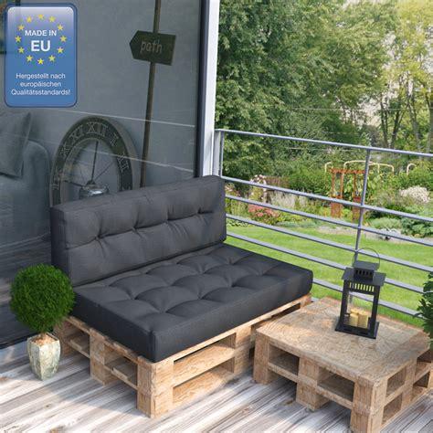 coussin pour canapé palette coussin palette sofa oreiller int 233 rieur anthracite
