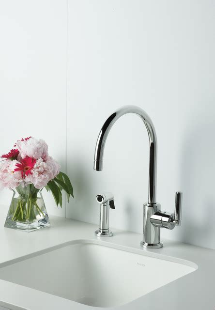 kallista vir stil 174 minimal kitchen faucet vir stil minimal by laura kirar for kallista modern