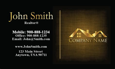 3 Stylish Real Estate Business Card Templates by Real Estate Business Cards Printing Service For