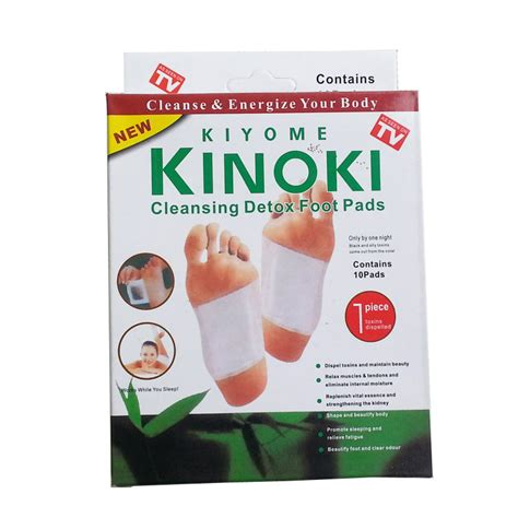 Detox Patches by Kinoki Detox Foot Pads Patches Relaxation Relief