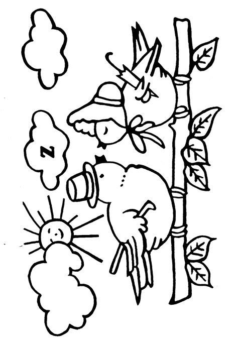 coloriage Oiseaux gratuit 12140 - Animaux