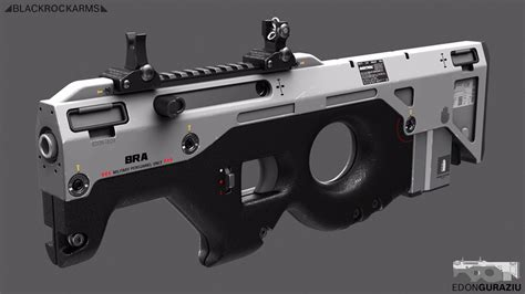 gun designs cool futuristic weapon designs