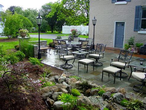 Landscape Rock Rochester Ny Landscape Design Ideas W Patio Water Feature In