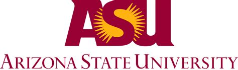 Of Arizona Free Mba by File Arizona State Signature Svg
